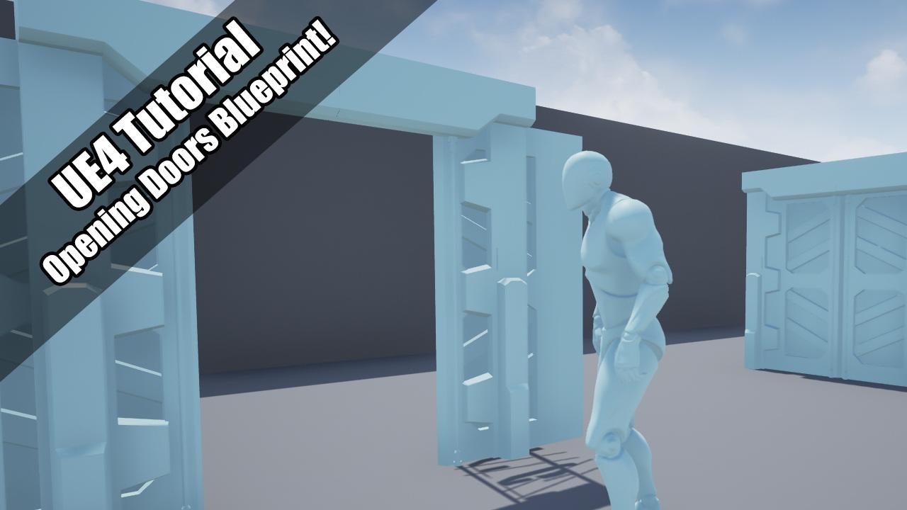 Ue4 tutorial opening doors blueprints youtube ue4 tutorial opening doors blueprints malvernweather Choice Image