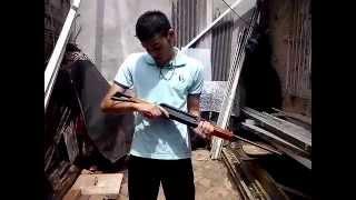 Carabina de pressão AR+ Bam B5 AK47