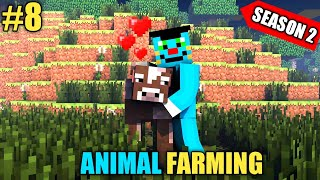 #8 | Minecraft (S2) Biggest Animal Farming With Oggy And Jack | In Hindi | Rock Indian Gamer |
