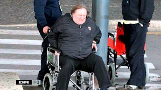 P3: Gerard Depardieu glider og falder i søvn på Citatindekset