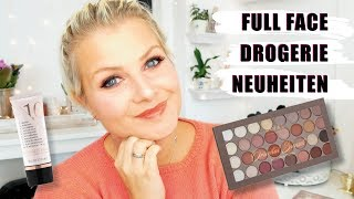 Full Face mit DROGERIE NEUHEITEN 🔥 | CATRICE, Rival de Loop, Rival de Young| First Impression