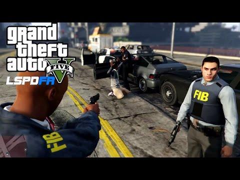 GTA 5 FIB/FBI Patrol - LSPDFR 0.2b Police Mod #16