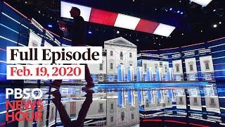 PBS NewsHour West live episode, Feb 19, 2020