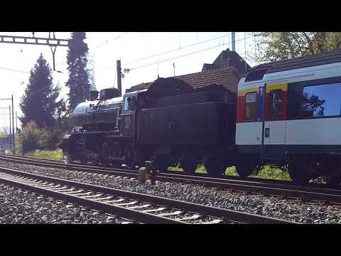 2017-10-14 Lastprobefahrt C 5/6 2978 Ausfahrt Bülach