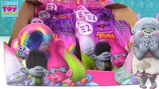Trolls Series 2 Dreamworks Blind Bag Figures Opening Toy Review | PSToyReviews