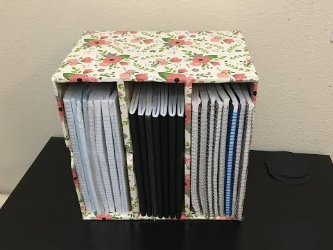 DIY-Paper Organizer (Reuse/Recycle Milk Carton Box)