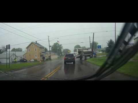 Driving through Mount Eaton, Ohio