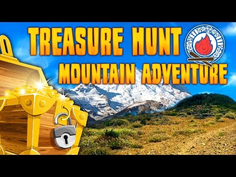 TREASURE HUNT MOUNTAIN ADVENTURE ★ Can We Survive