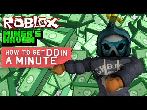 Miners Haven How to get DD in 1 minute