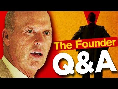 MICHAEL KEATON Q&A // THE FOUNDER //...
