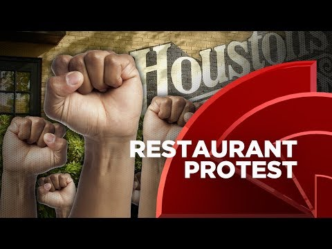 T.I. And A Group Of Protesters Shutdown Houston's Restaurant In ATL