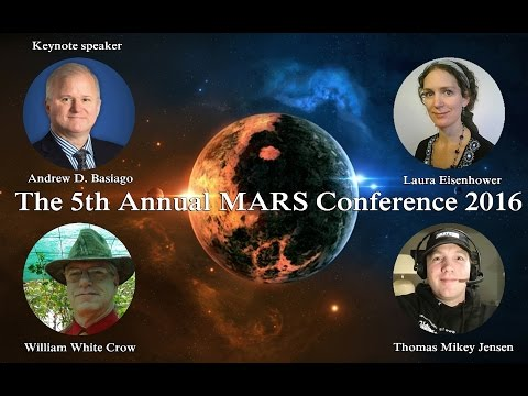 William White Crow Speaking at The 5th Annual MARS Conference 2016