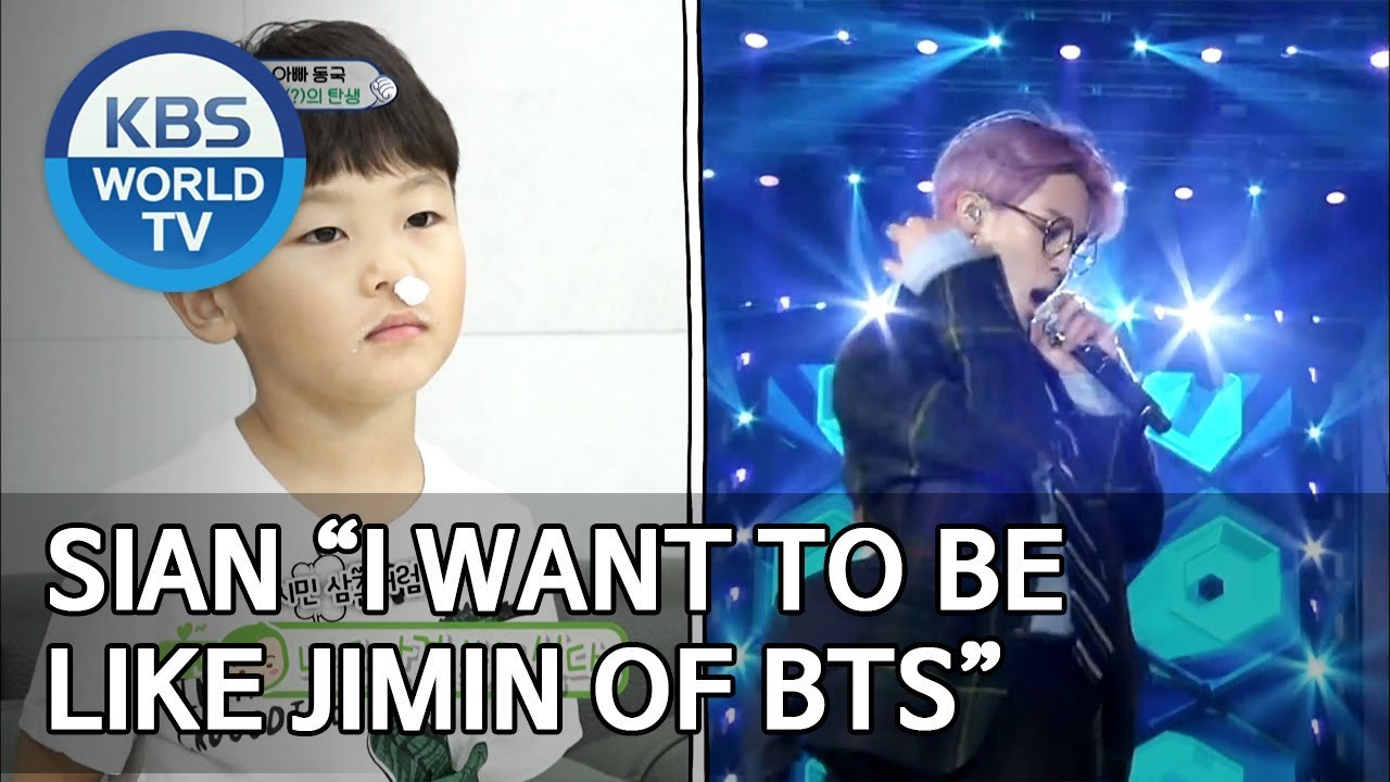 """Download Sian """"I want to be like Jimin of BTS"""" [The Return of Superman/2019.06.09]"""