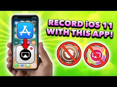 *NEW* IOS 11/12 Screen Recorder In App Store! BEST IOS 11/12 Screen Recording App!!