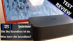 Sky Soundbox Test und Review. Die Soundbox von Sky Devialet mit richtig Bass.