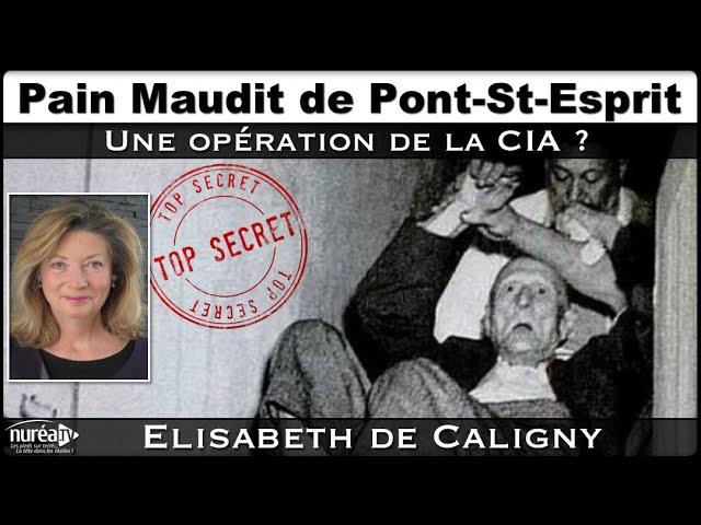 « Pain maudit de Pont-St-Esprit : Opération de la CIA ? » avec Elisabeth de Caligny - NURÉA TV
