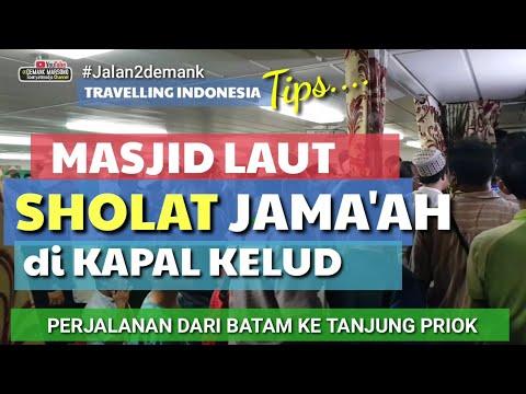 Musholla atau Masjid Laut di Kapal KELUD Dari Batam Ke Tanjung Priok Jakarta • Masjid Keren Di Kapal