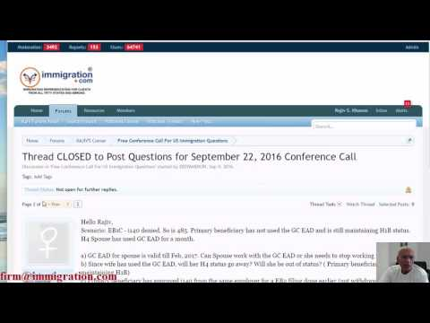 Recording of Free Community Conference Call (Every Other Thursday), 22 September 2016