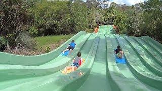 Hill Racing Water Slide at Jamberoo Action Park