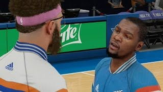 Repeat youtube video NBA 2K15 MyCareer - Talking Trash To Kevin Durant!