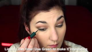 Quick + Easy Green Eye Tutorial Thumbnail