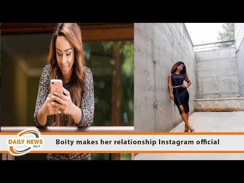 Boity Makes Her Relationship Instagram Official