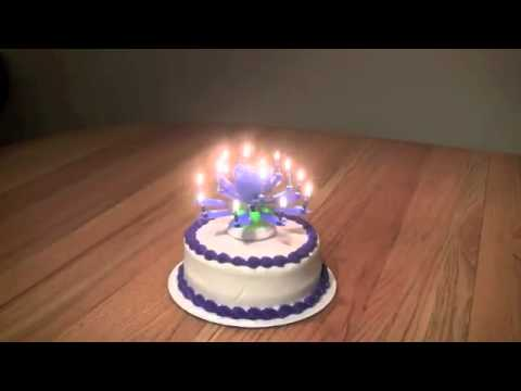 Happy Birthday Singing Candles