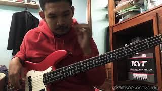 Adu Rayu - Glenn Fredly, Tulus, Yovie Widianto (Bass Cover)