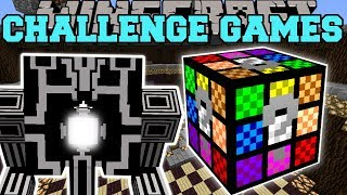 Minecraft: ROBO GUNNER CHALLENGE GAMES - Lucky Block Mod - Modded Mini-Game