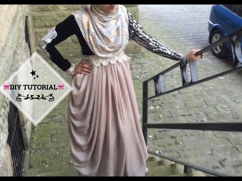 How to:DIY: Easy Drape Dress/Abaya Tutorial   Bobiz Kollection