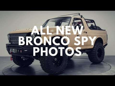 Ford Bronco Price