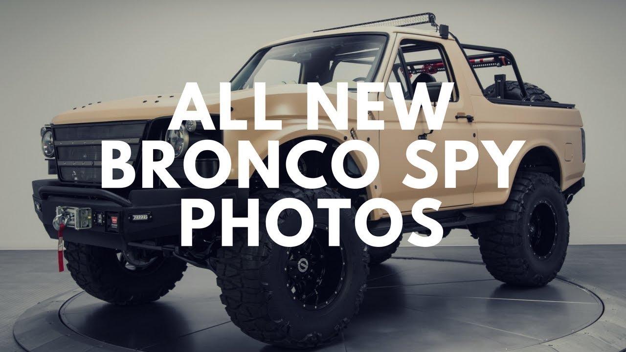 2020 Ford Bronco Spy Photos, Interior >> 2020 Ford Bronco Price