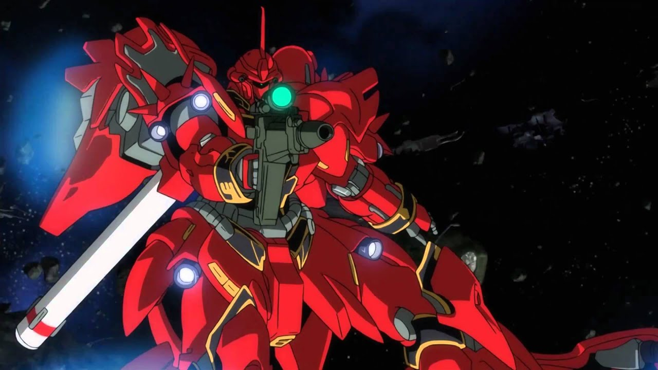 [Gundam Core] Gundam Unicorn PV - MSN-06S Sinanju /u0026 Full Frontal