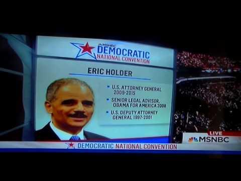 Eric Holder  Speech At The DNC