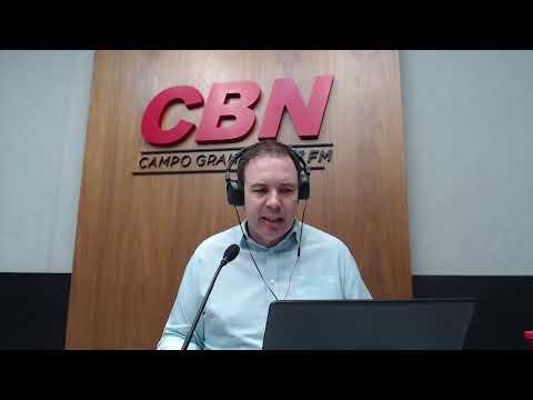 CBN Campo Grande (05/08/2020) - com Ginez Cesar