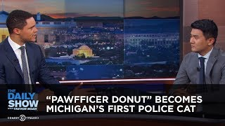 """Pawfficer Donut"" Becomes Michigan's First Police Cat 