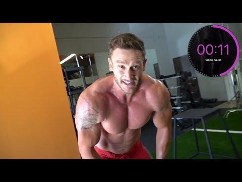 At Home HIIT Workout - Follow Along Tabata Workout