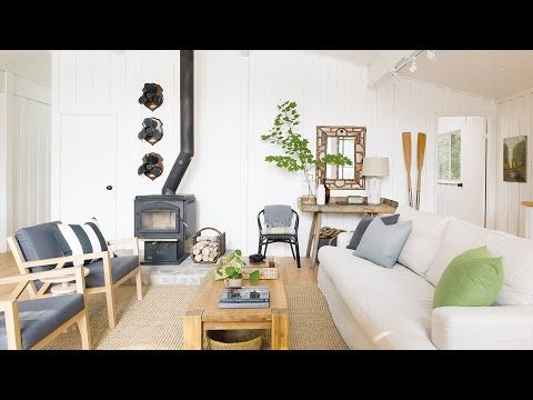 Interior Design – Escape To A Modern Camp-Style Cottage
