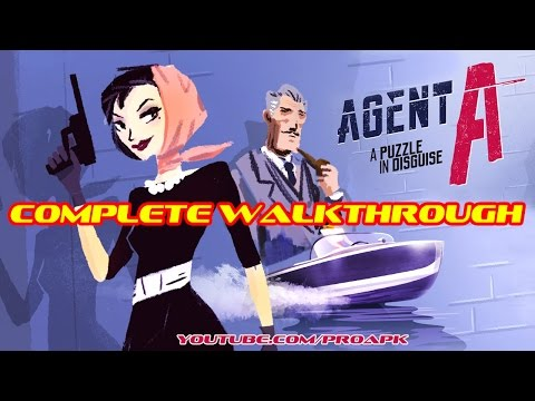 Agent A: A puzzle in disguise 30 minutes Complete Walkthrough IOS/Android