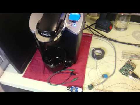 Hacking The Amazon Dash Button To Brew Coffee