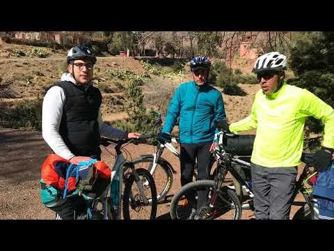 2/4 - 320 km of bike trekking through the Atlas Mountains Morocco