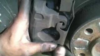 1998 bmw 528i e39 brake pad change part 2