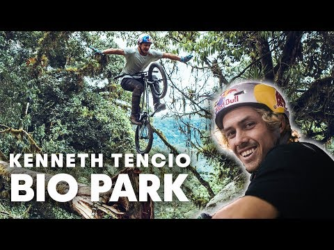 Kenneth Tencio Turns Costa Rican Jungle Into BMX Playground