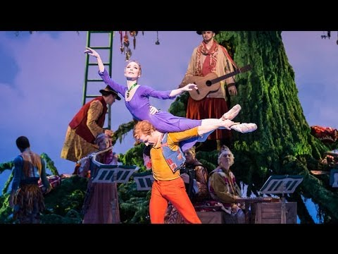 Sarah Lamb, Christopher Wheeldon and Bob Crowley on Act 2 of The Winters Tale (The Royal Ballet)