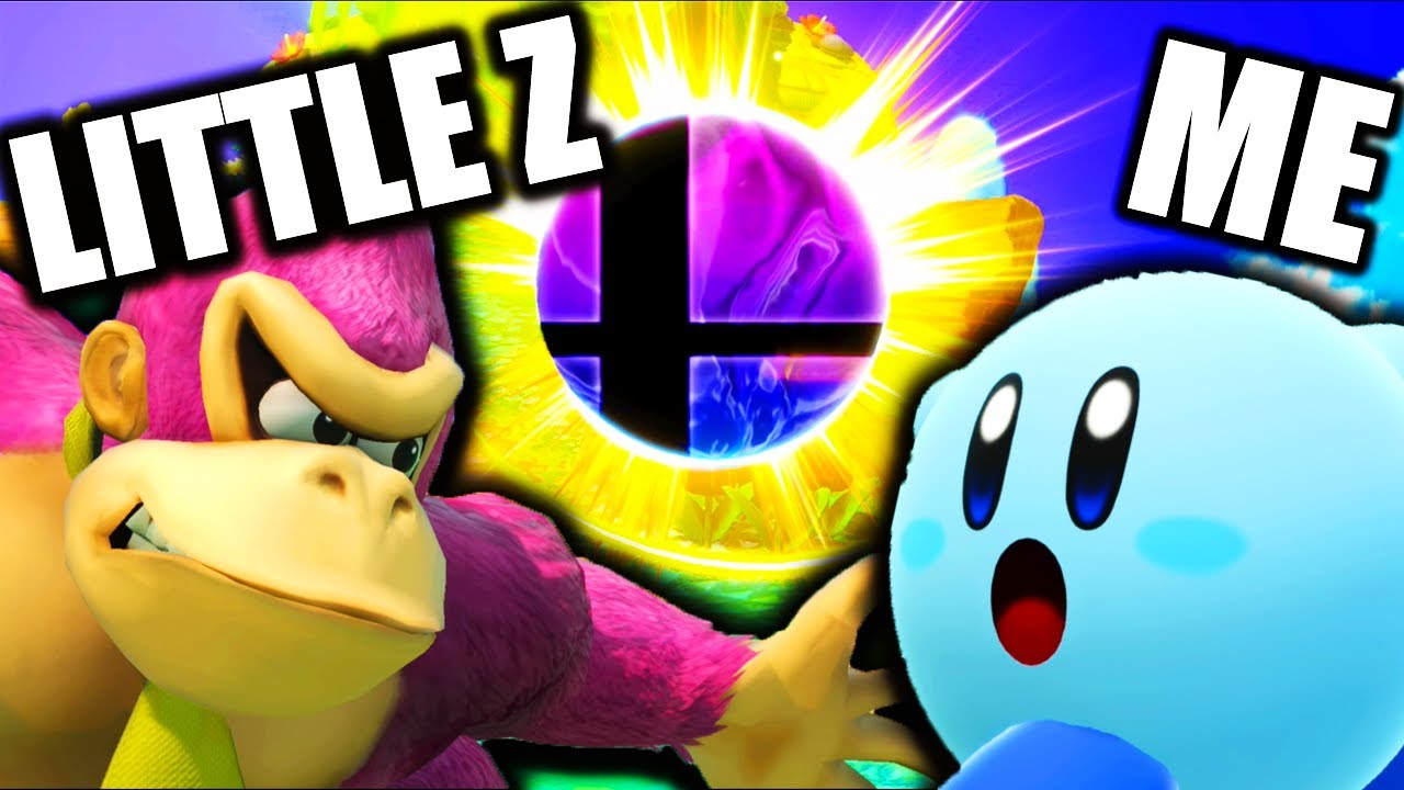 I Challenged LITTLE Z to See Who's the Best at Smash Bros