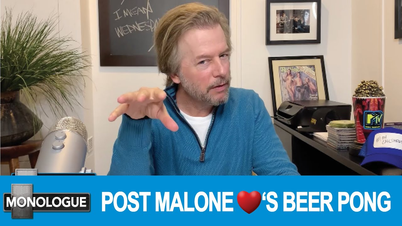 POST MALONE LOVES BEER PONG - IN THE BUNKER MONOLOGUE (07/29/2020)