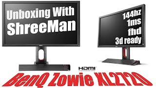 BenQ Zowie XL2720 27 Inch Gaming Monitor l Unboxing With ShreeMan