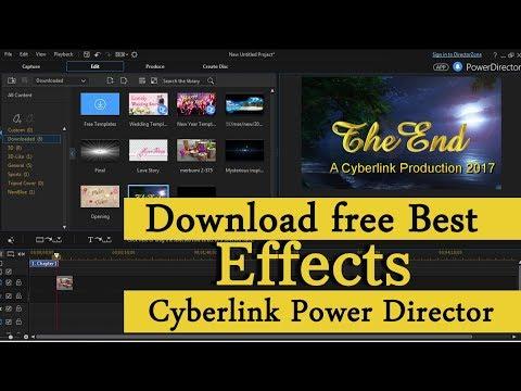 Cyberlink power Director Free Best Effects Download |