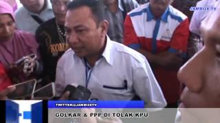 Golkar Dan PPP Bak Ketimun Bungkuk Di Mata KPU Provinsi Jambi