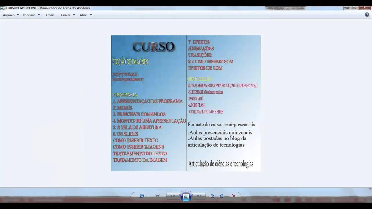 visualizador powerpoint 2007